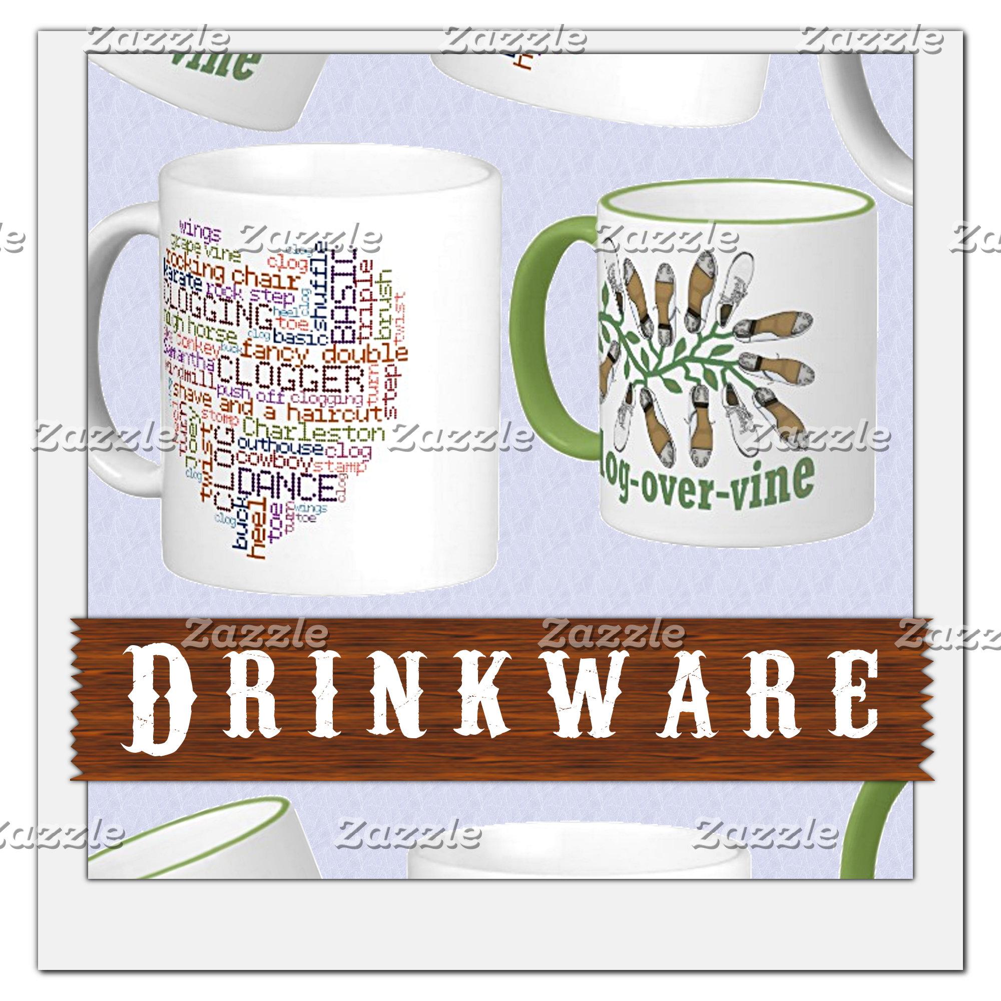 MUGS   DRINKWARE