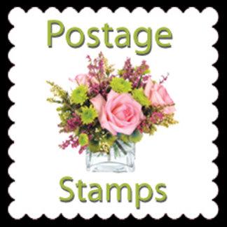 Floral Postage
