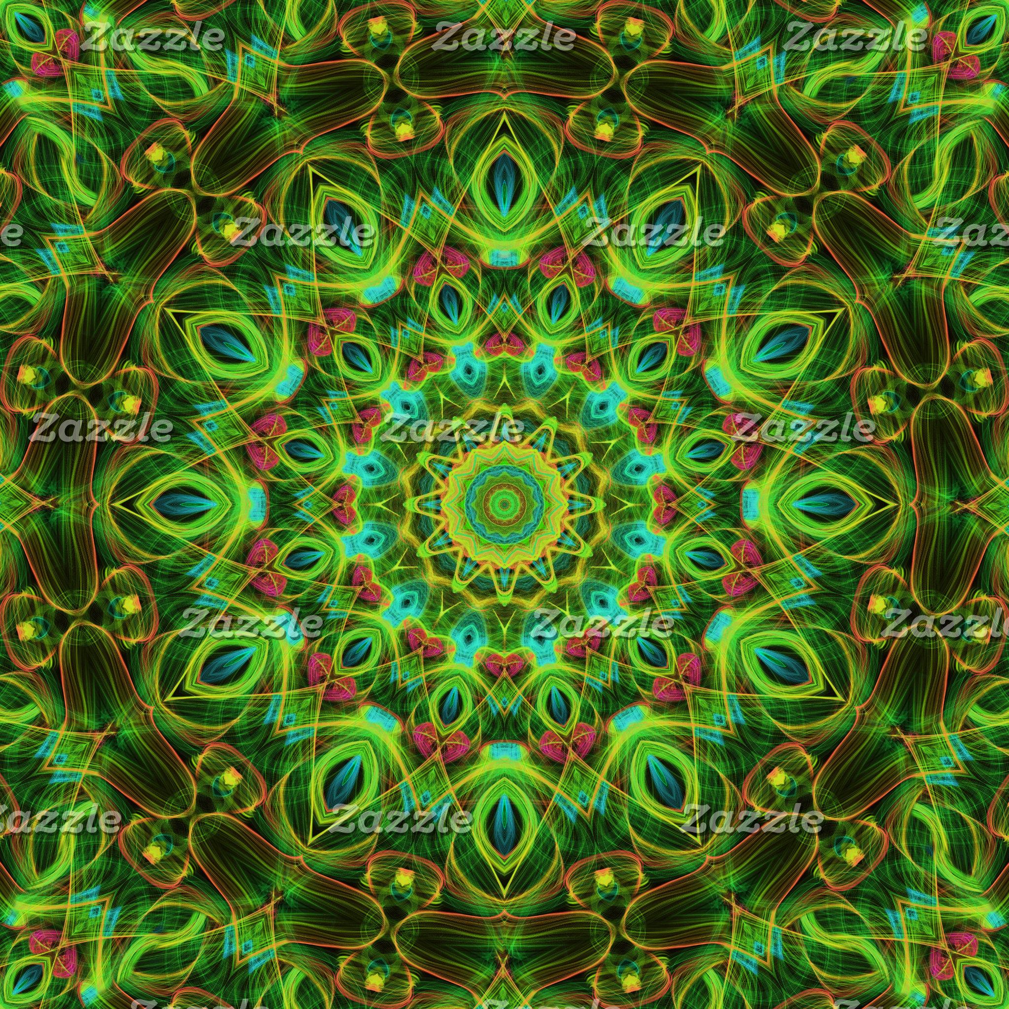 Green Mandalas