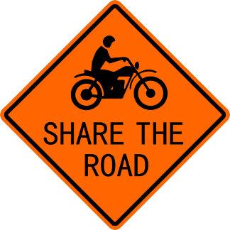 Biker Road Signs