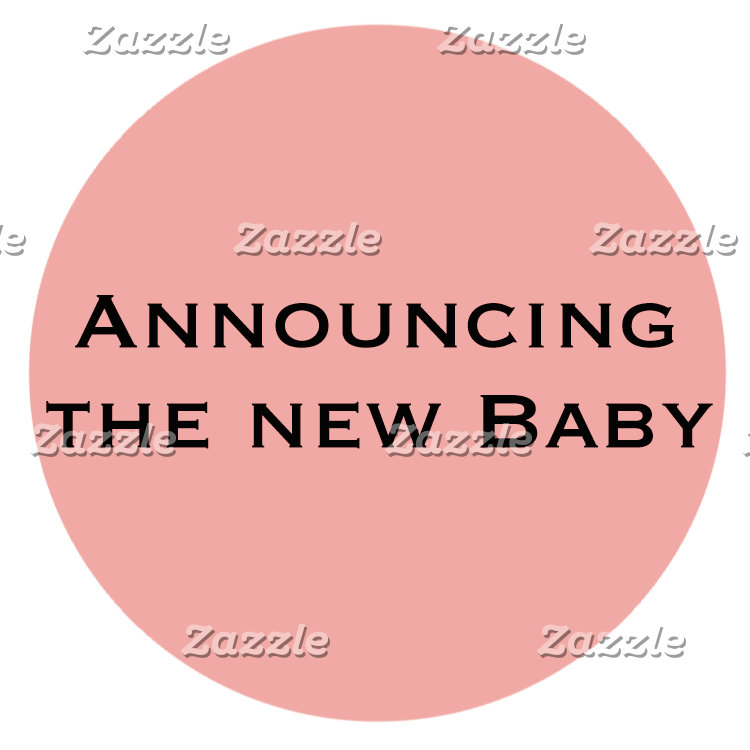 Announcing the New Baby