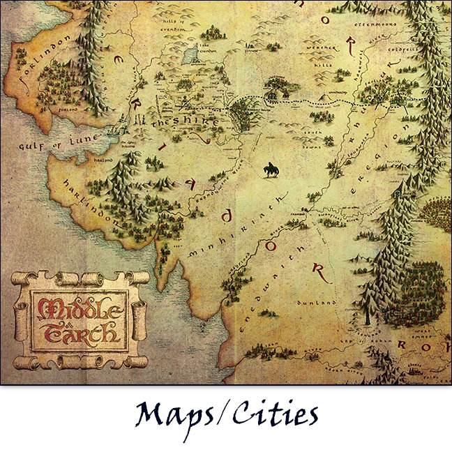 Maps/Cities