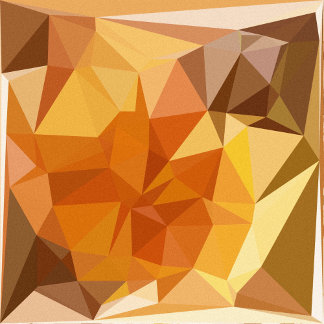 Geometric Patterns | Orange Yellow Triangles