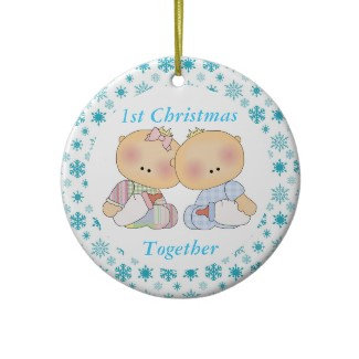 Twins Ornaments