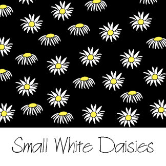 Small White Daisies