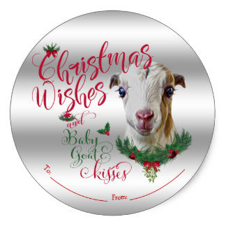 Christmas Wishes and Baby Goat Kisses