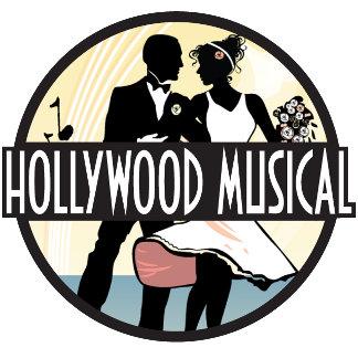 Hollywood Musical Wedding Invitations