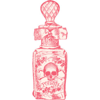 Pretty Pink Poison Bottle
