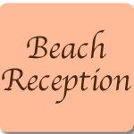 Beach Wedding Reception Accessories