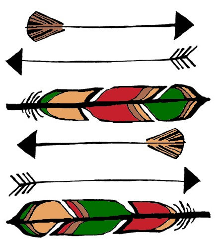 Feathers and Arrows
