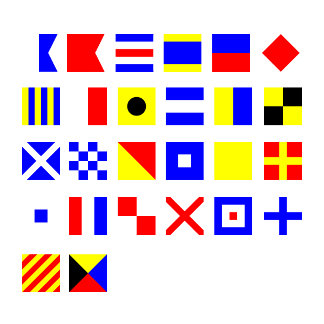 Nautical Sign Flags