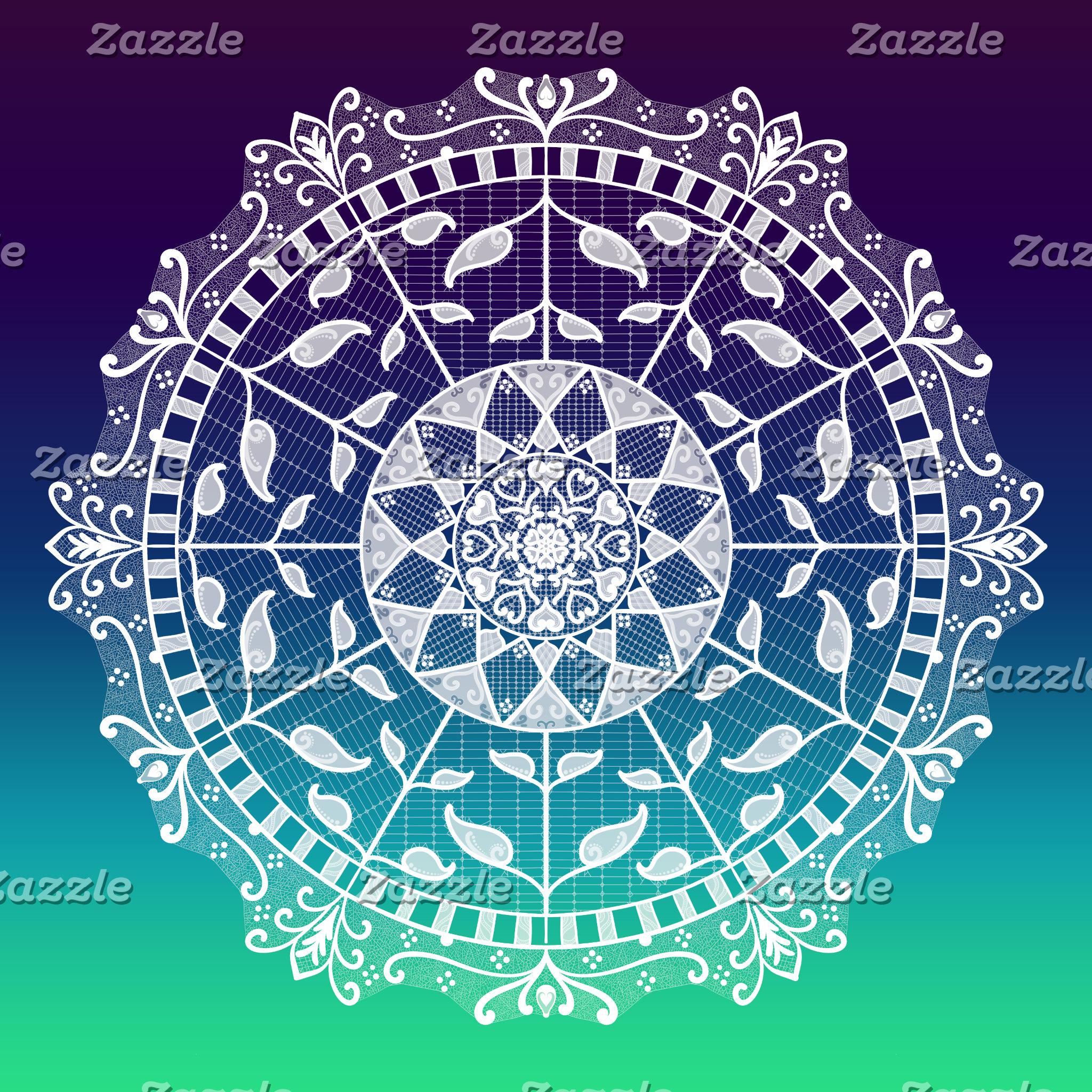 Gradient Mandalas