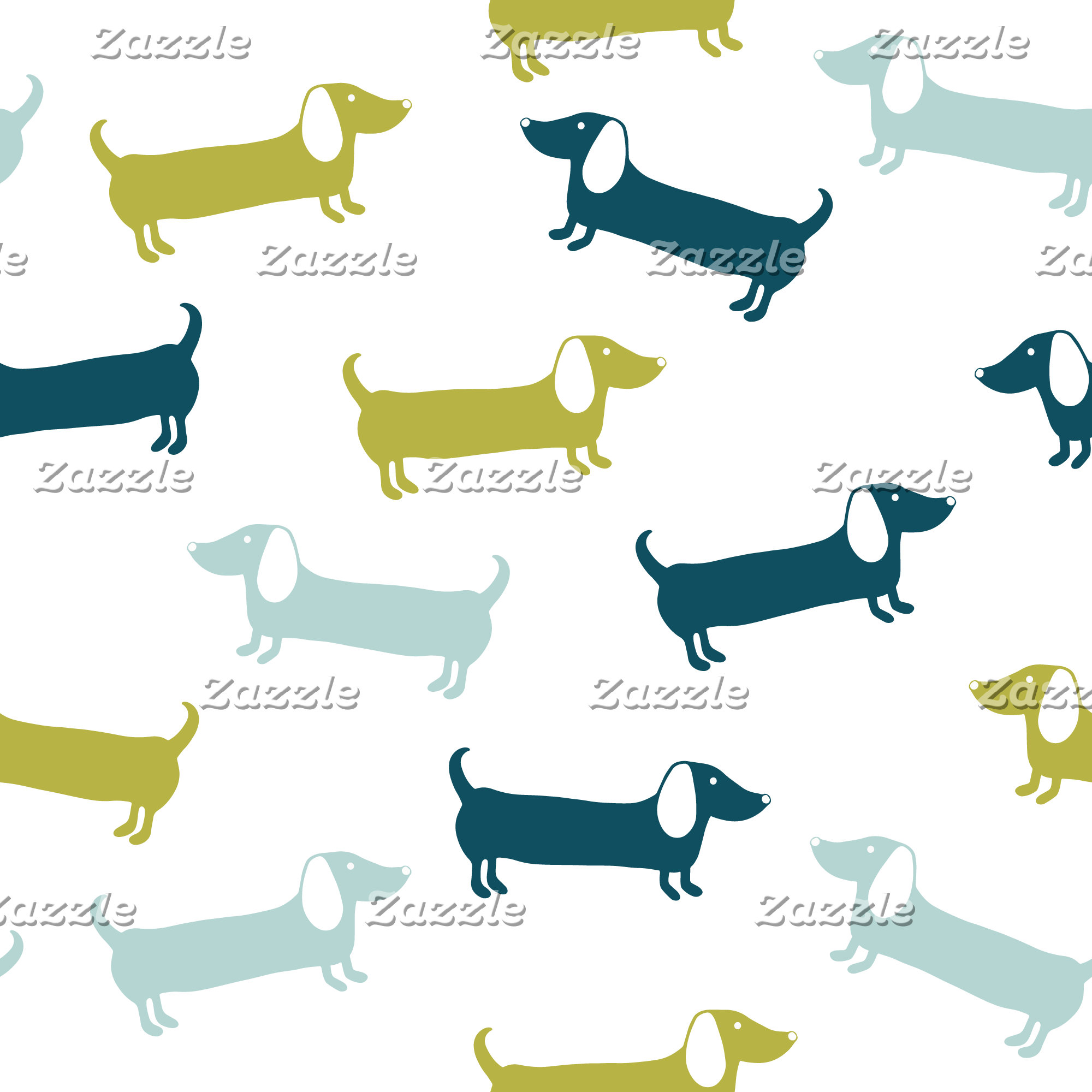 Dachshunds pattern