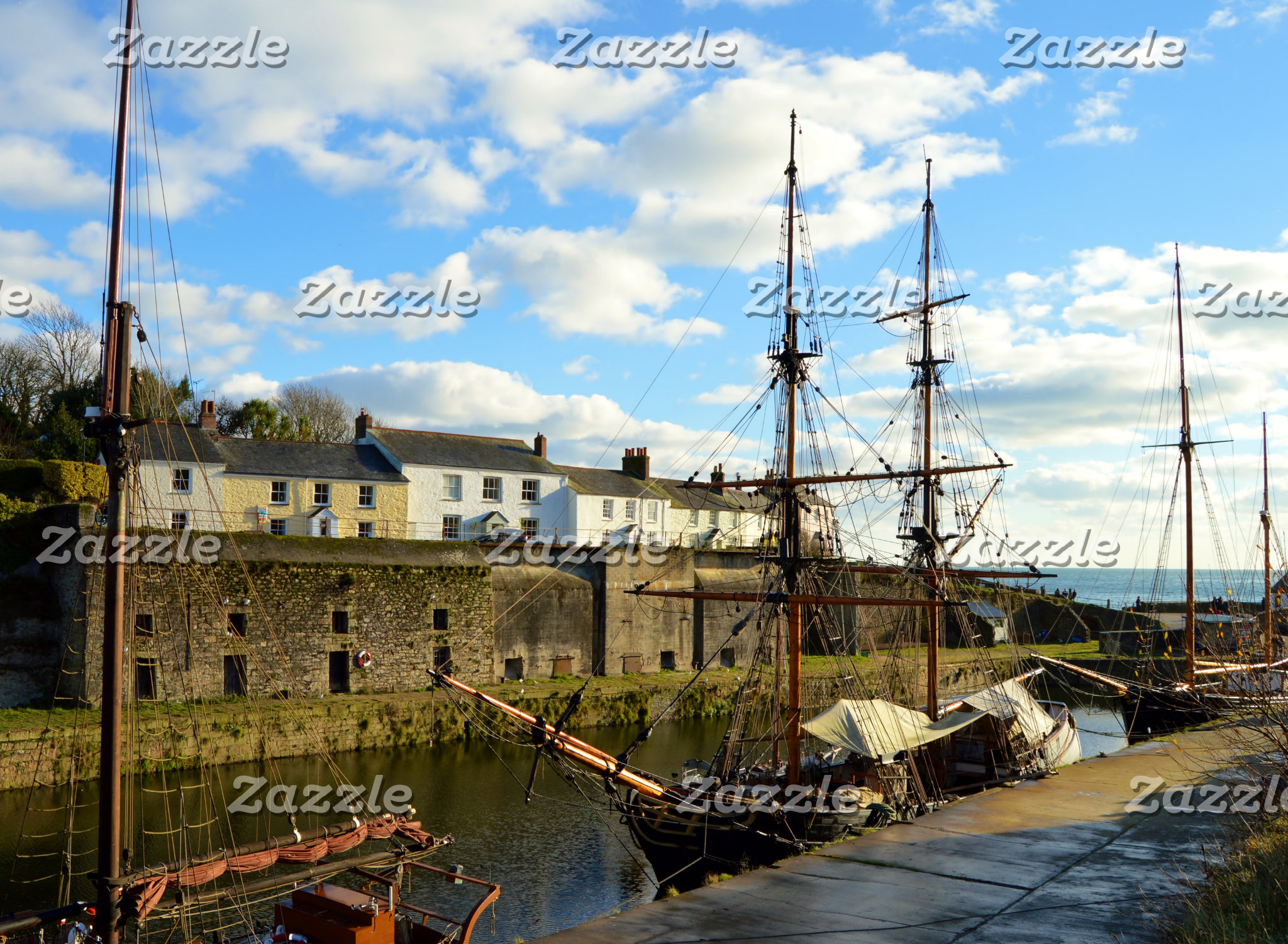 Harbours and Boats