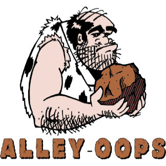 Bowling Alley oops! Caveman T-Shirt Gifts