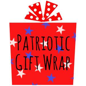 Patriotic Gift Wrap
