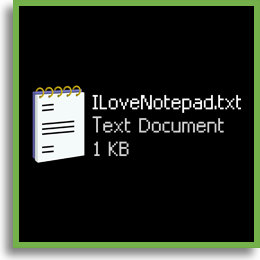 I Love Notepad