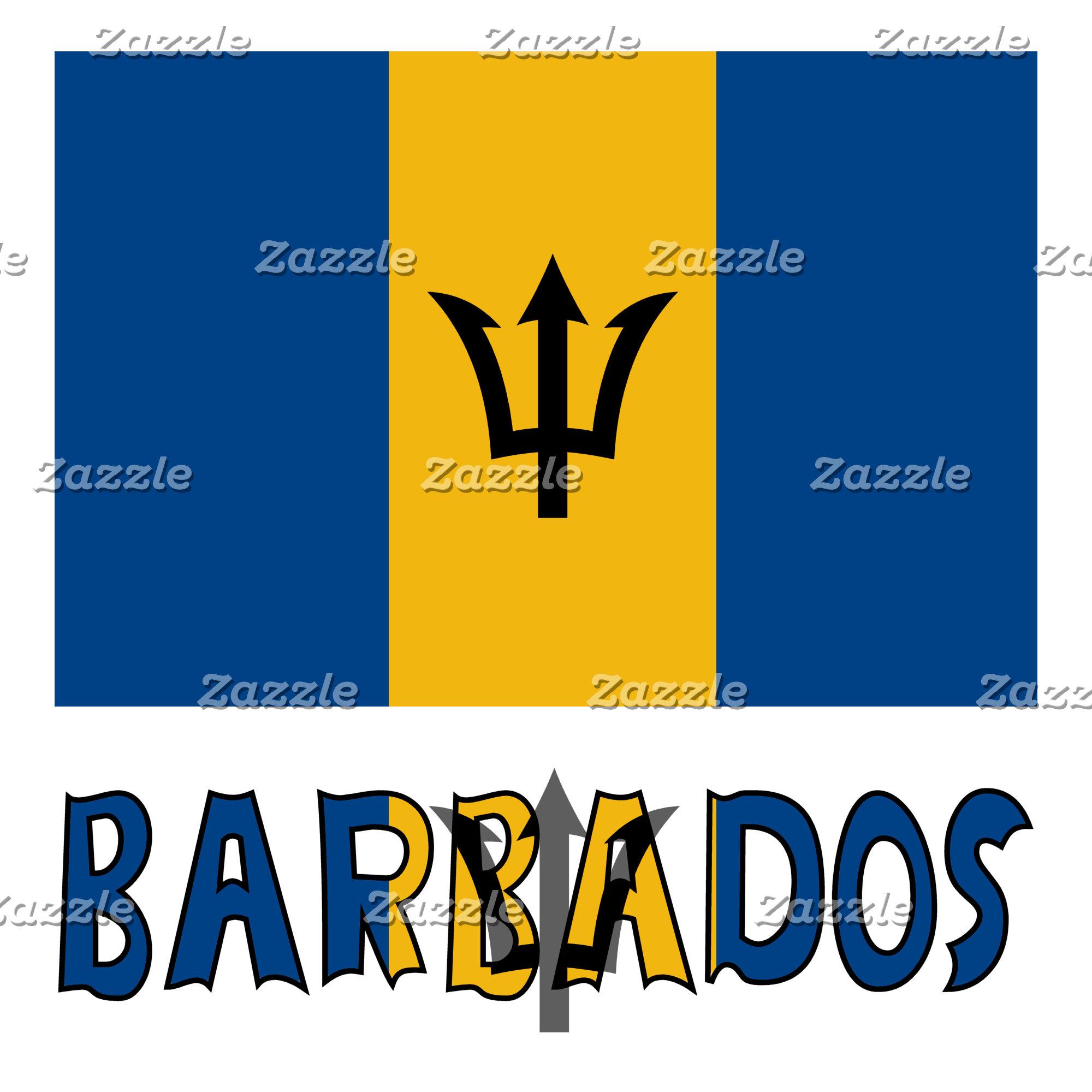Barbadian Flag and Barbados