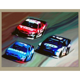 Auto Racing Posters/Cards/Gifts/Postage