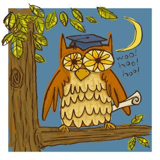 Cute Owl Grad