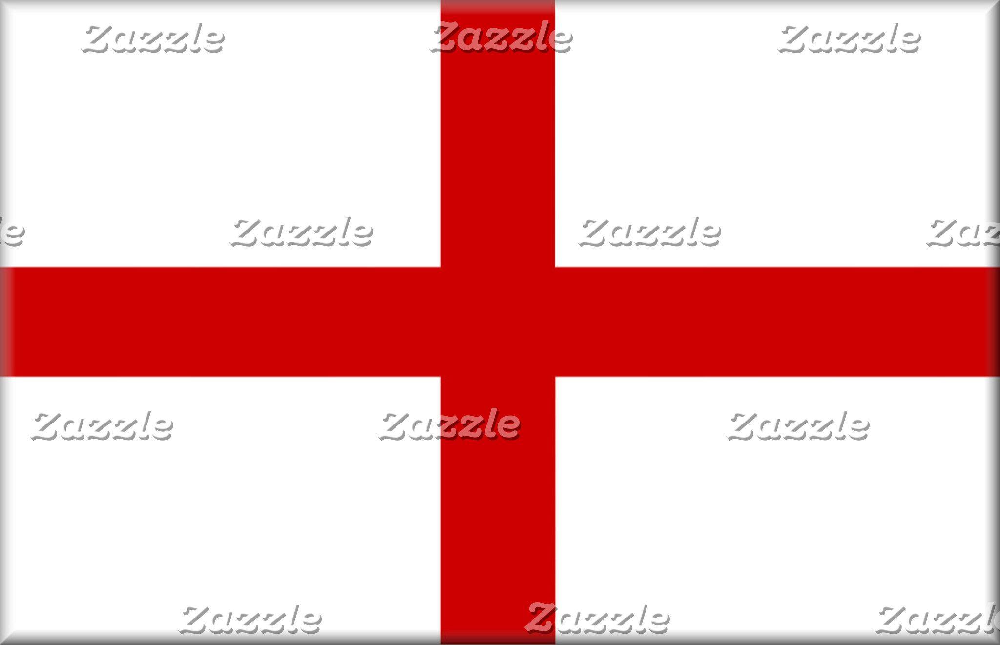 England Flag Button