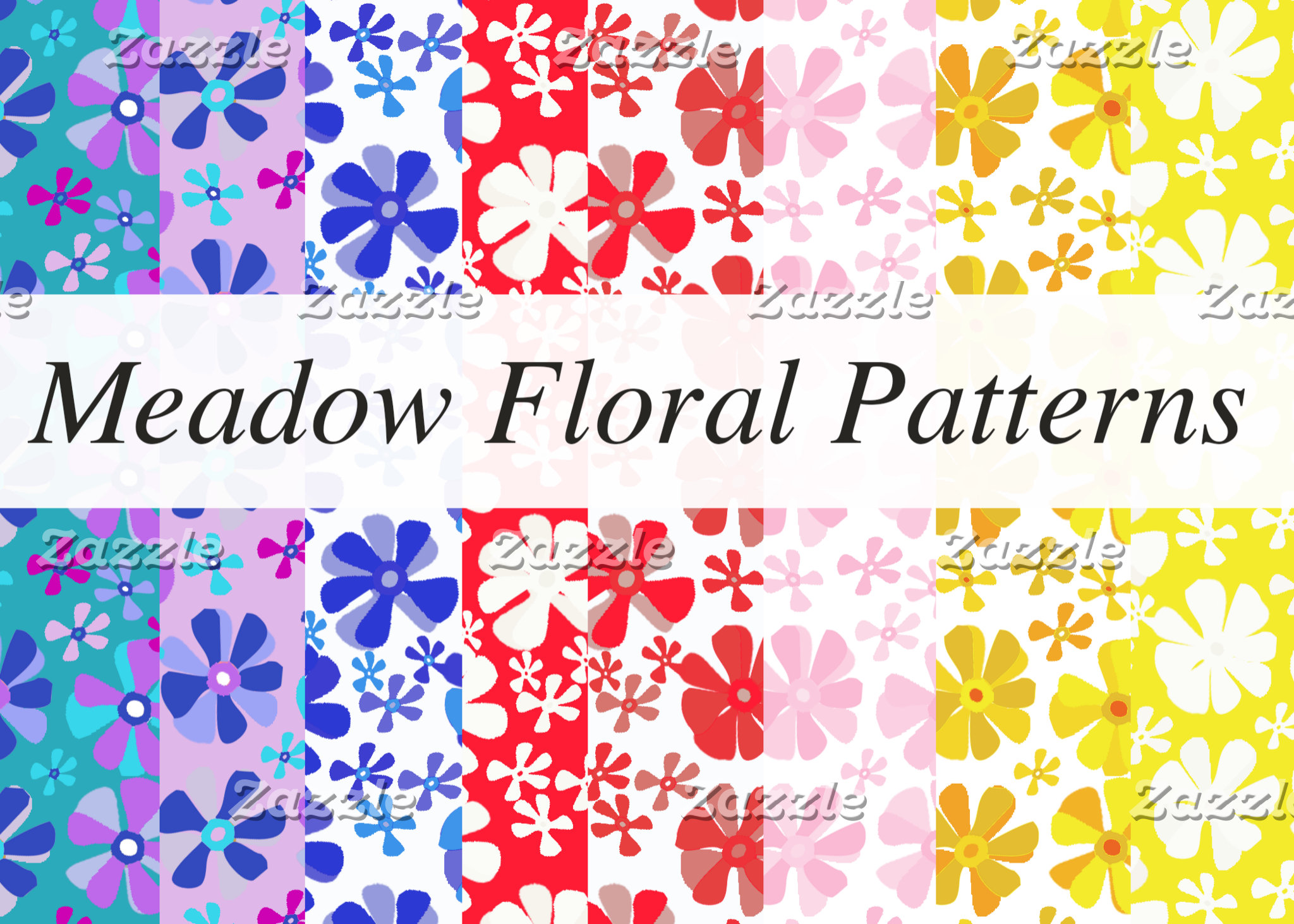 Meadow Floral Pattern