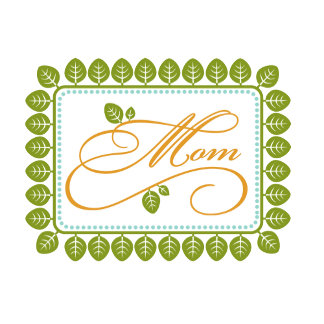 Leaf Mom Tag