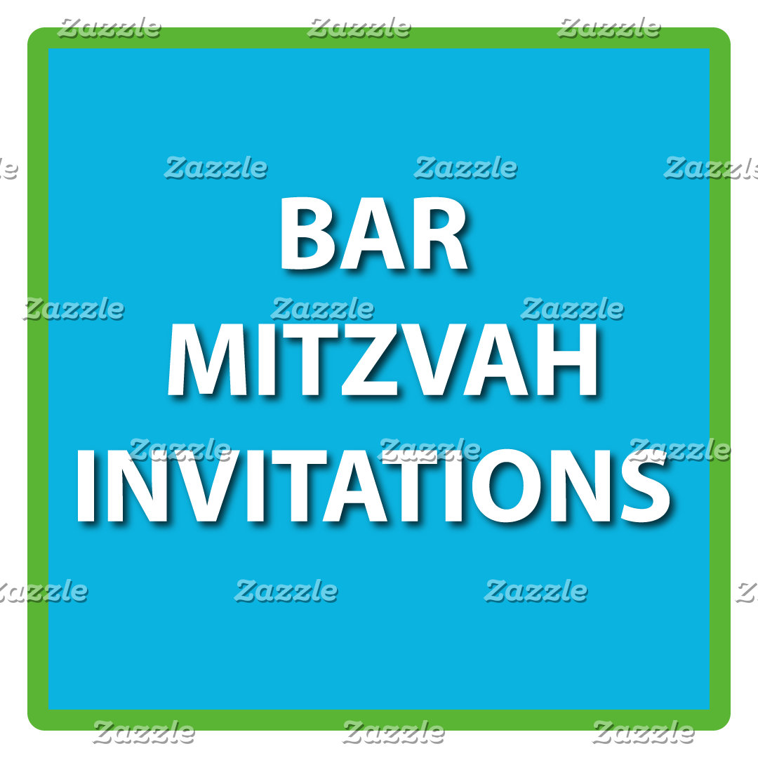 BAR MITZVAH INVITATIONS - 888-274-6696