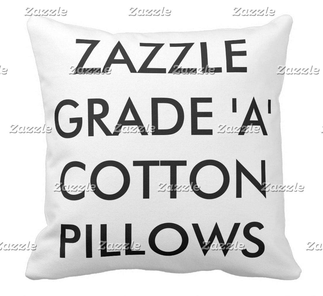 Grade A Cotton Pillows
