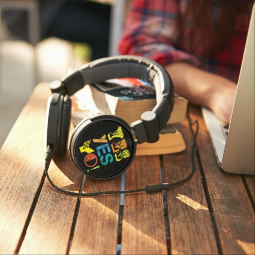 funky quotes Dj headphones