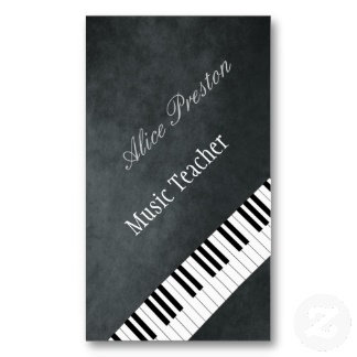 ► Music Business Cards