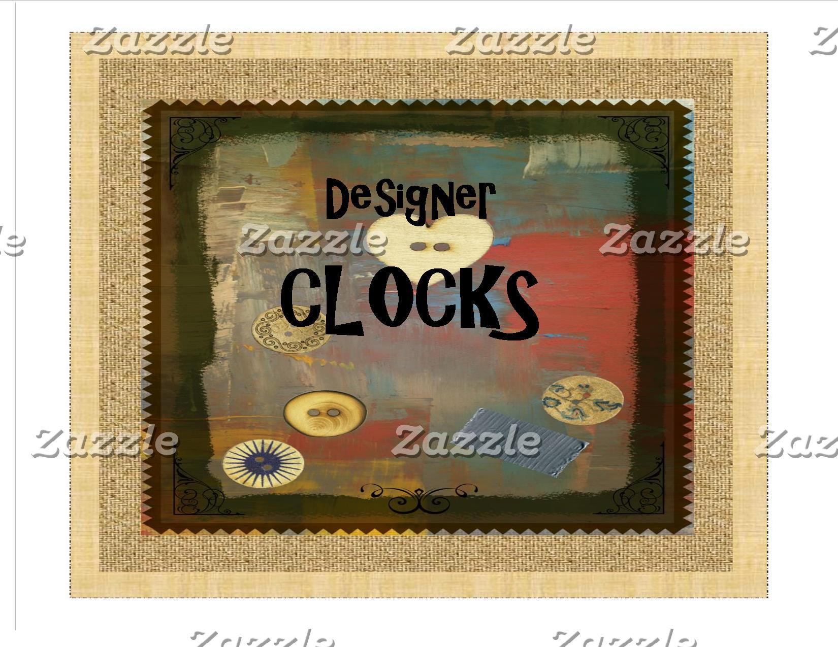 Designer Clocks