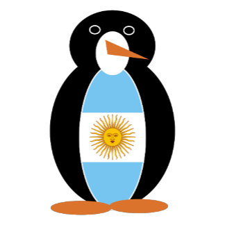 Argentine Holiday Mr. Penguin