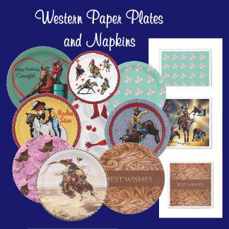 Paper Plates - Napkins - Cups
