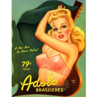 Adola Brassiere Pinup
