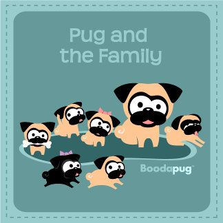 Pug and the Family