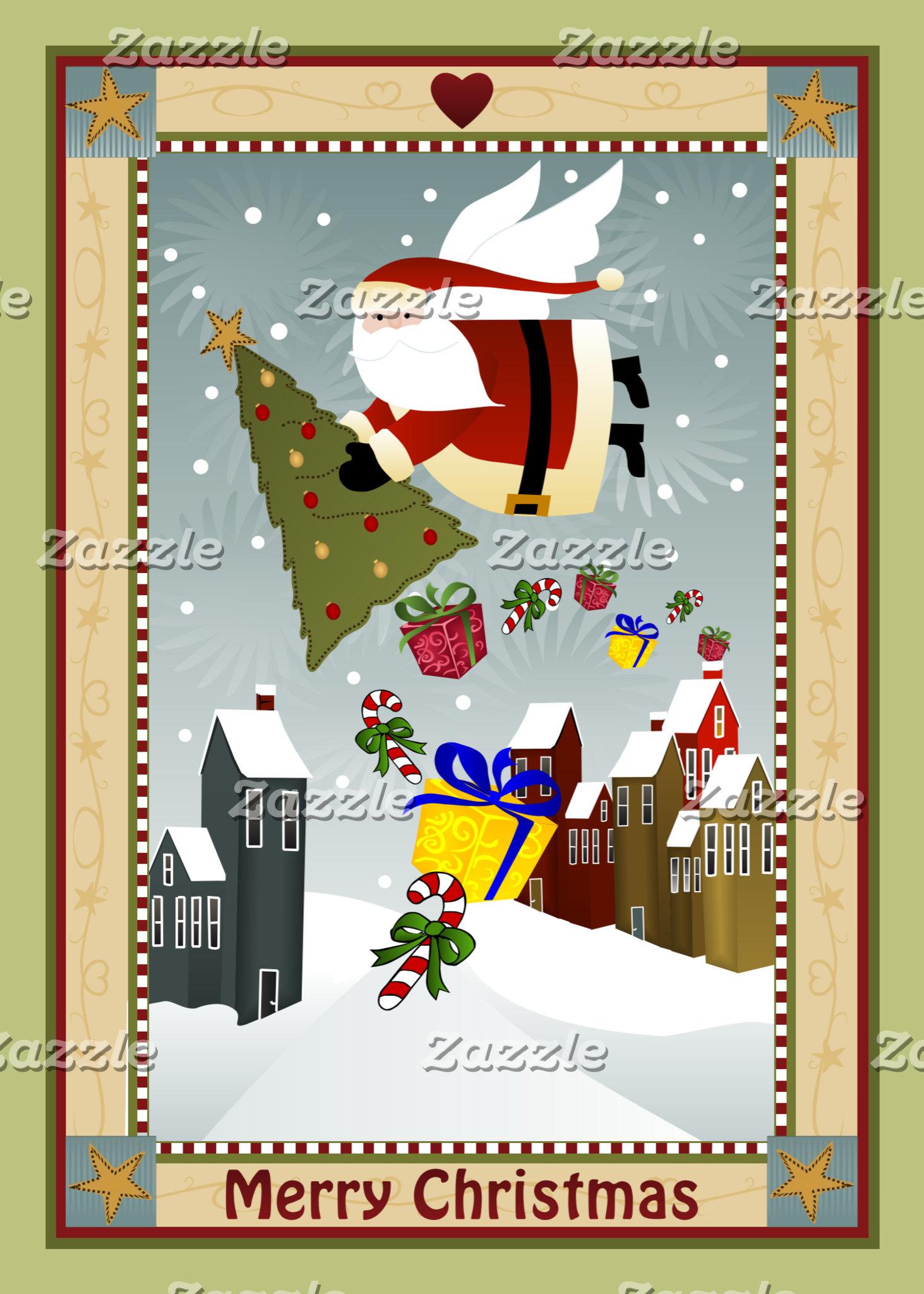Country Christmas (Santa)