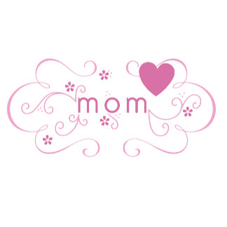 Heart Mom Tag
