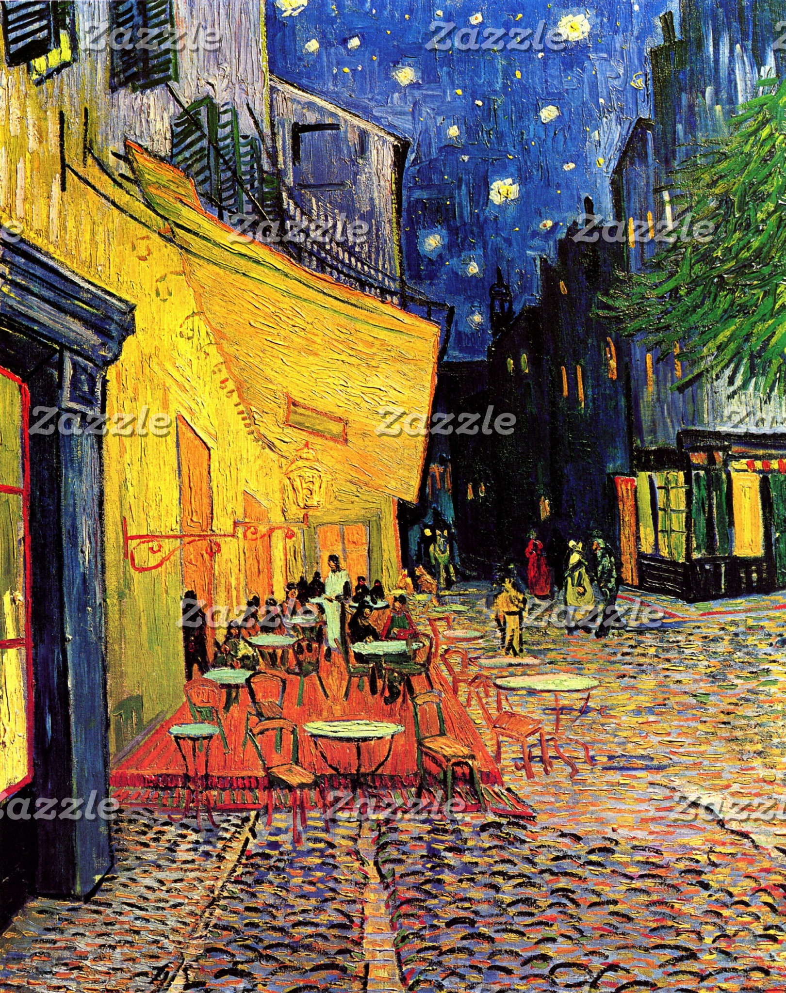Architectural Structures by Vincent van Gogh