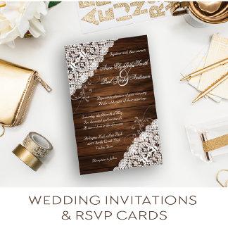 Wedding Invitations & RSVP Cards