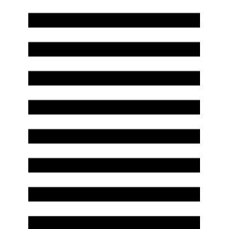 Geometric Art Black and White Stripes