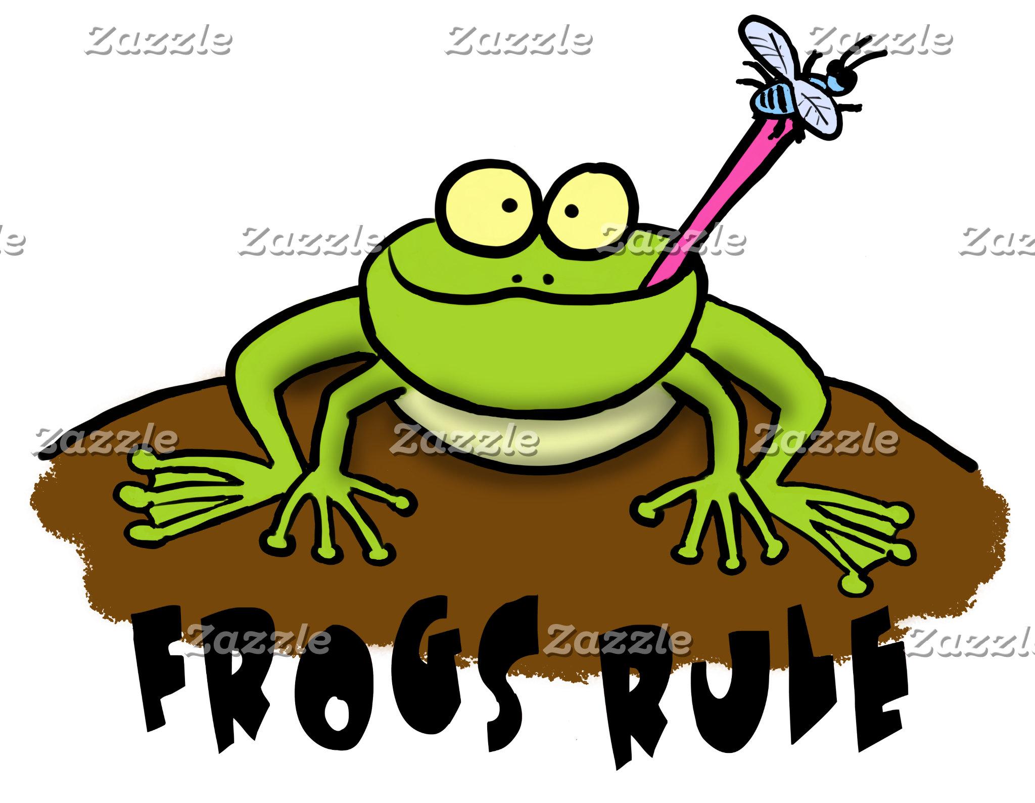 Frog Cartoons.