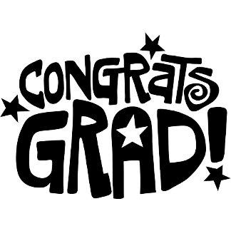 Congrats Grad! - Black