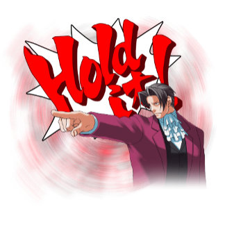 Hold It! Miles Edgeworth