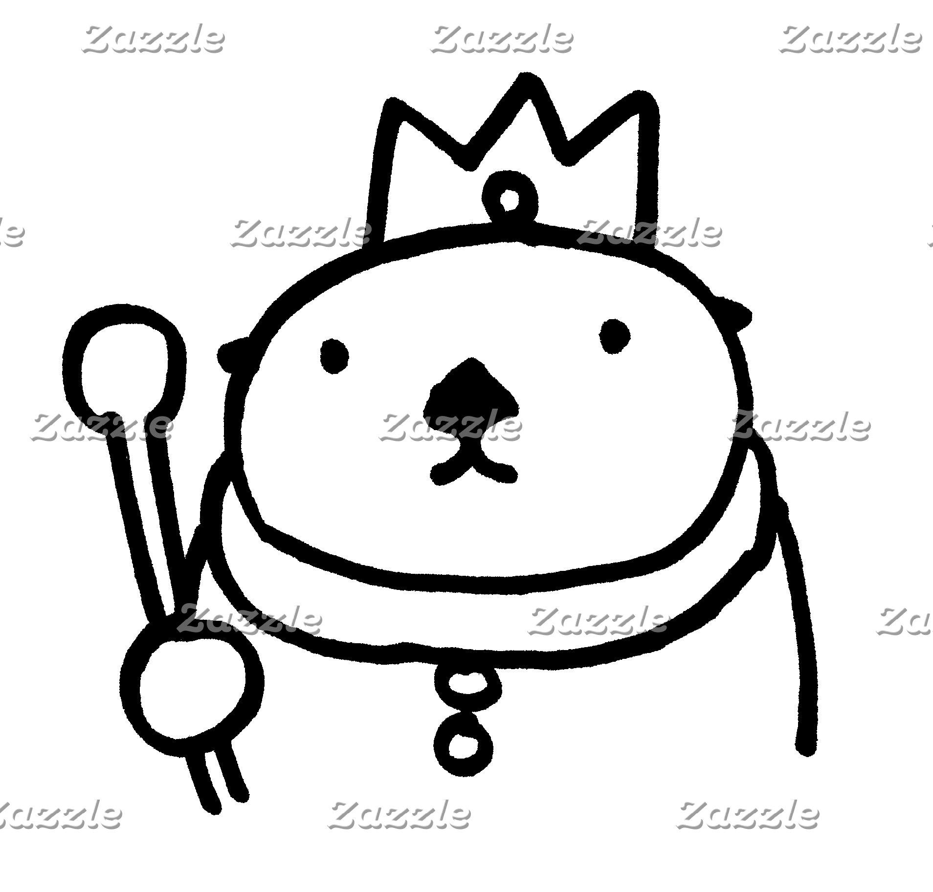 Sea Otter King & Queen