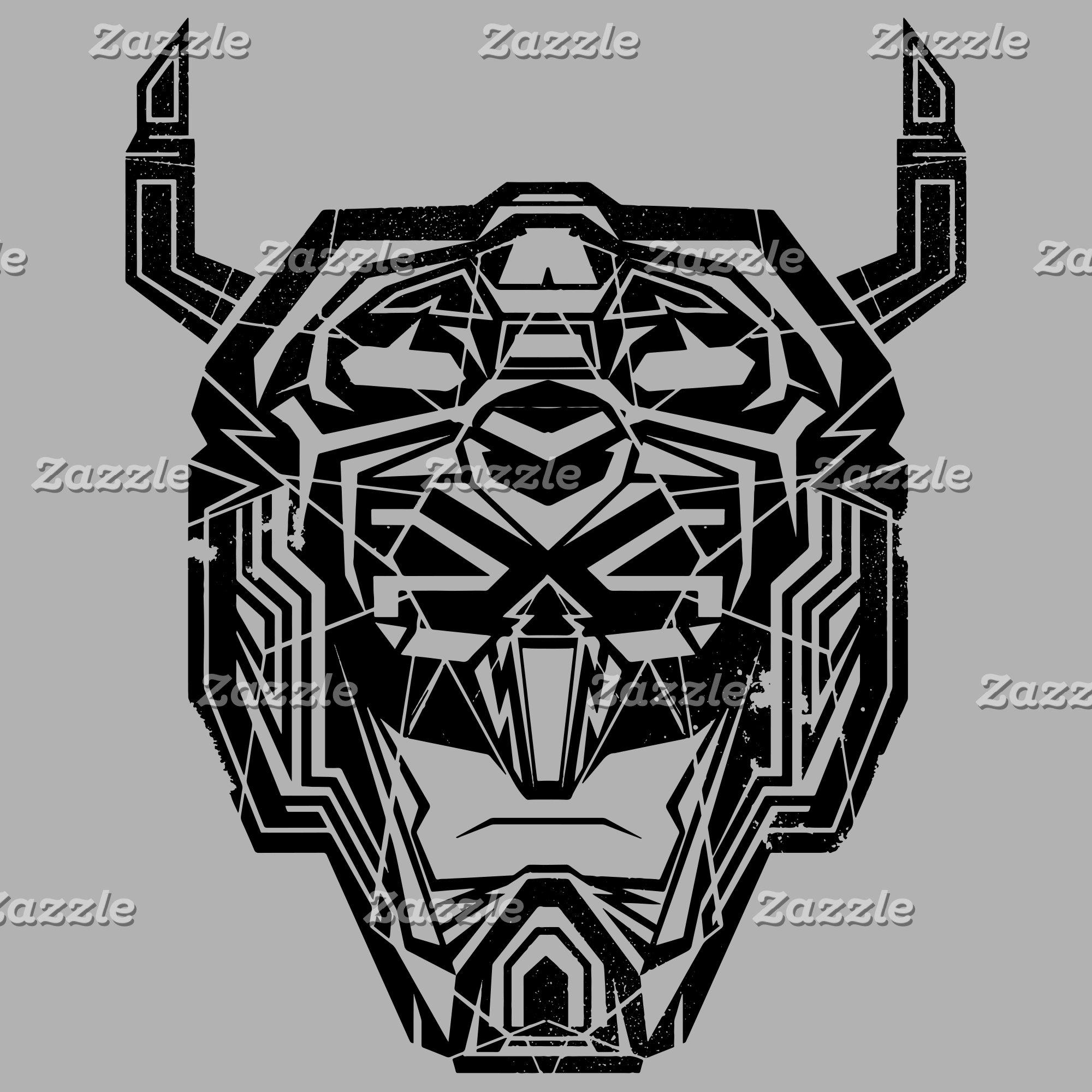 Voltron | Voltron Head Fractured Outline