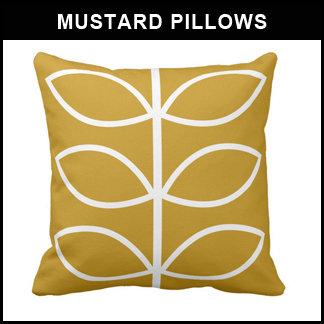 Mustard Pillows
