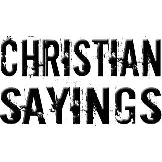 Christian Sayings