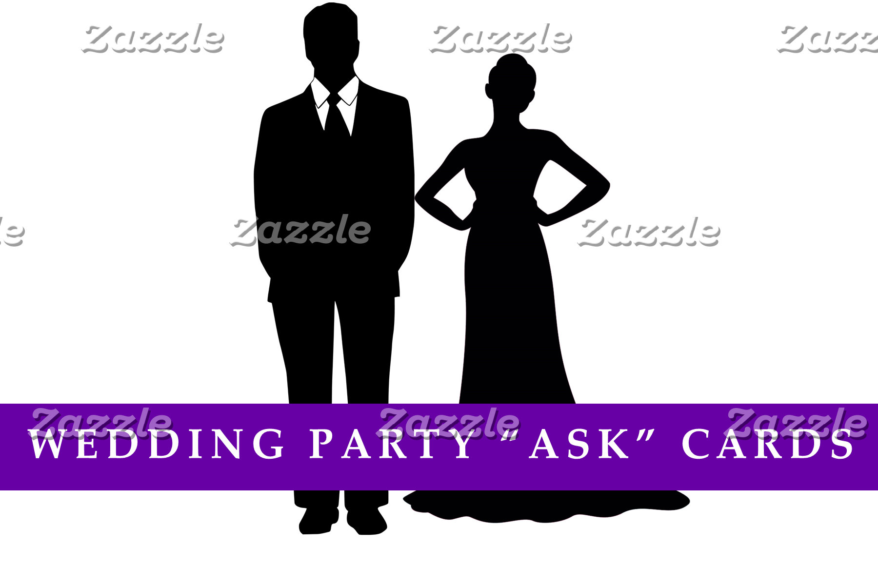 "Wedding Party ""Ask"" Cards"