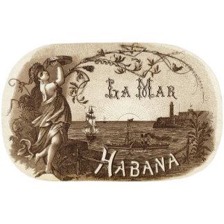 """Habana Girl with Tambourine Poster Print"""